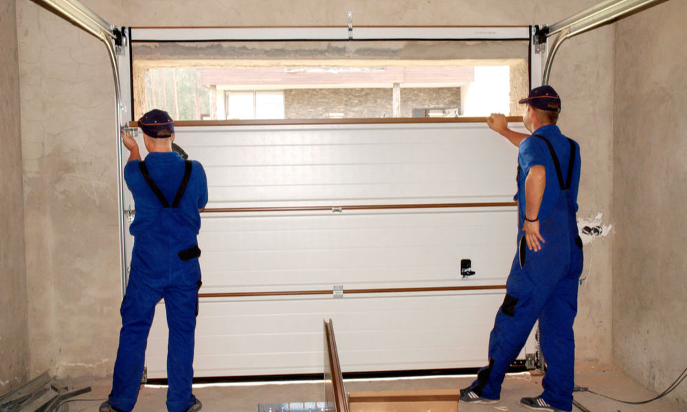 Garage door installation Happpy Valley